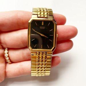 Seiko | Vintage Men's Gold Bracelet Watch